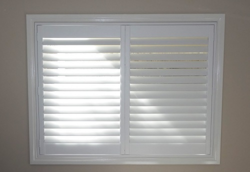 DIY timber Plantation Shutters installed 17