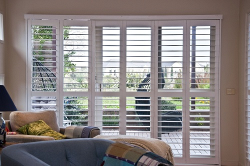 DIY Bi-Fold Plantation shutters installed 11