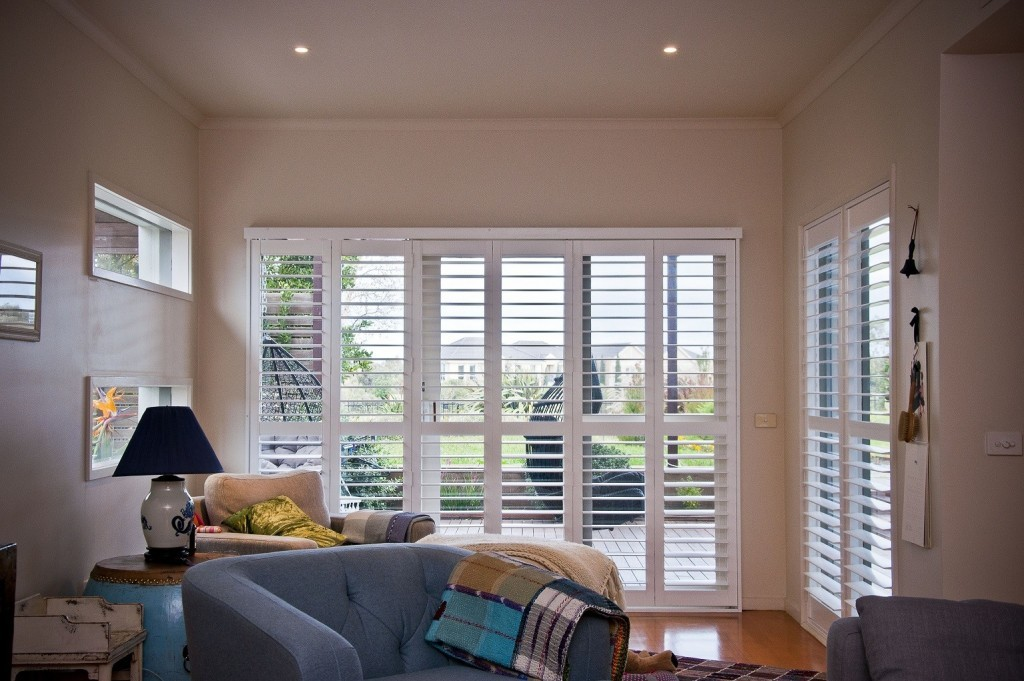 DIY Plantation Shutters installed 10