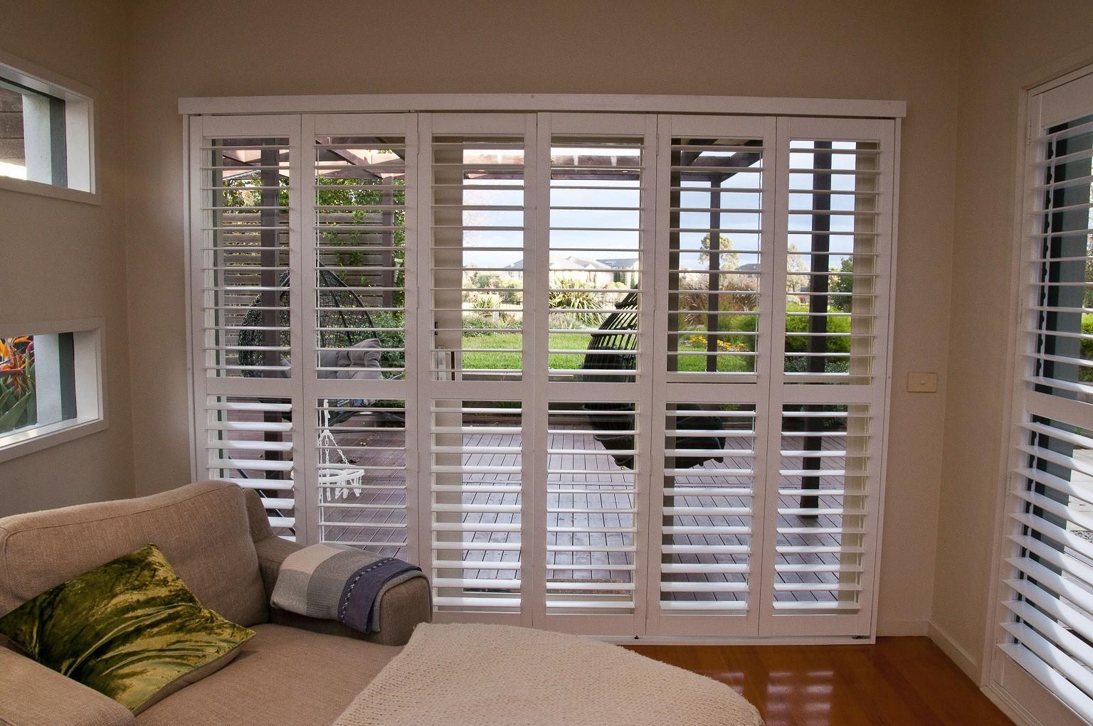 Diy plantation shutters custom made timber pvc aluminium direct
