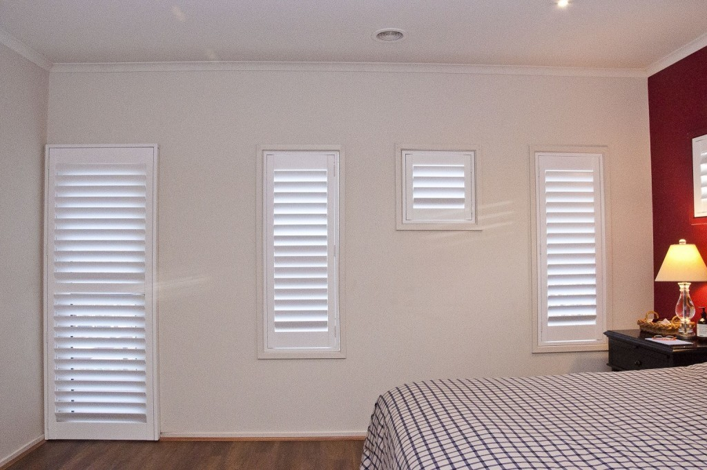 DIY Plantation Shutters installed 5